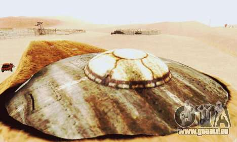 UFO Crash Site für GTA San Andreas her Screenshot