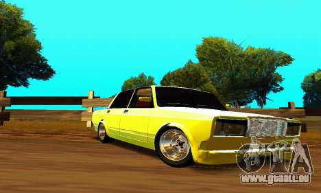 VAZ 2107 VIP für GTA San Andreas Innenansicht