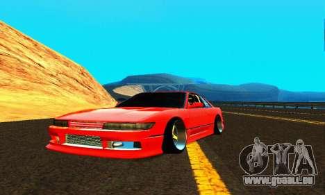 Nissan Silvia S13 HellaDrift für GTA San Andreas