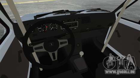 Volkswagen Golf MK1 GTI Update v1 für GTA 4 Innenansicht