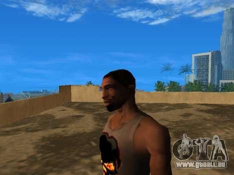 Le nouveau visage de CJ pour GTA San Andreas troisième écran