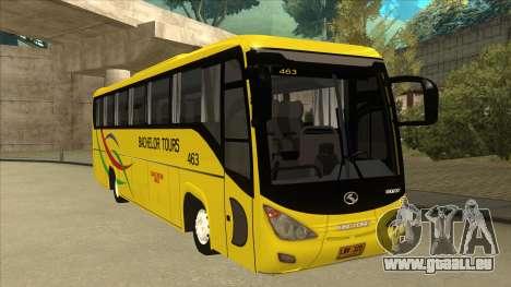 Kinglong XMQ6126Y - Bachelor Tours 463 pour GTA San Andreas laissé vue