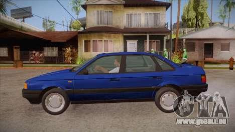 Volkswagen Passat B3 IVLM pour GTA San Andreas laissé vue