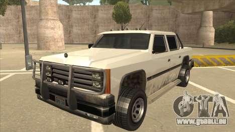 Declasse Rancher FXT für GTA San Andreas