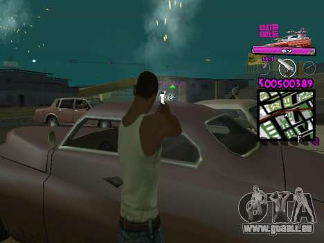 C-HUD by Kerro Diaz [ Ballas ] für GTA San Andreas dritten Screenshot