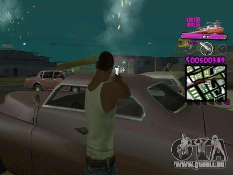 C-HUD by Kerro Diaz [ Ballas ] pour GTA San Andreas troisième écran