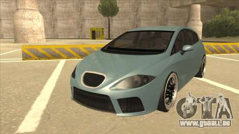 Seat Leon Clean Tuning pour GTA San Andreas