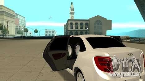 Lada Granta Limousine pour GTA San Andreas vue de droite