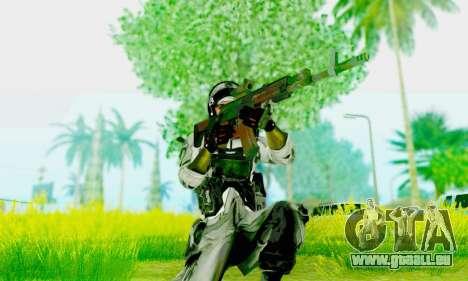 AK-12 de champ de bataille 4 pour GTA San Andreas troisième écran