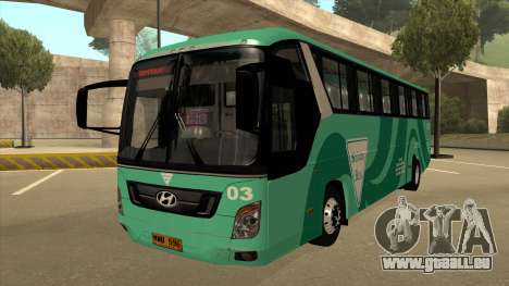 Holiday Bus 03 für GTA San Andreas