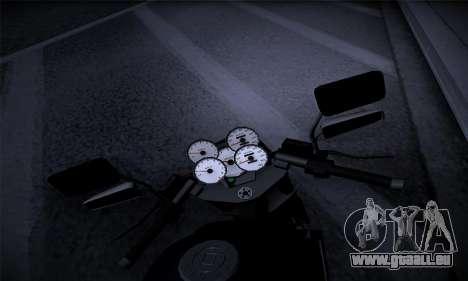 Ducati FCR900 2013 pour GTA San Andreas vue arrière