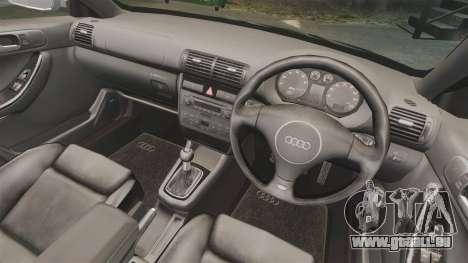 Audi S3 2001 für GTA 4 Innenansicht
