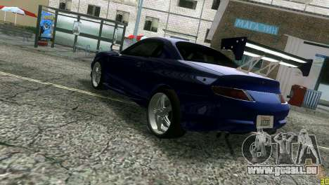 Mitsubishi FTO pour GTA Vice City sur la vue arrière gauche