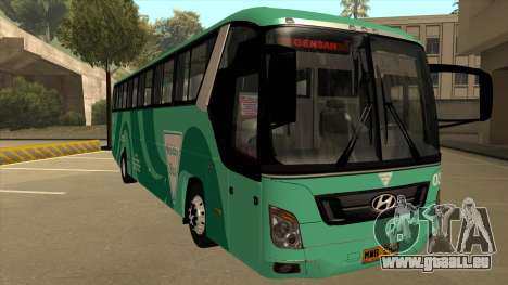 Holiday Bus 03 für GTA San Andreas linke Ansicht