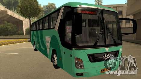 Holiday Bus 03 für GTA San Andreas linke Ansicht