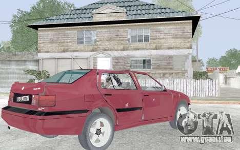 Volkswagen Vento für GTA San Andreas obere Ansicht