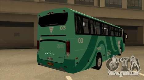 Holiday Bus 03 pour GTA San Andreas vue de droite