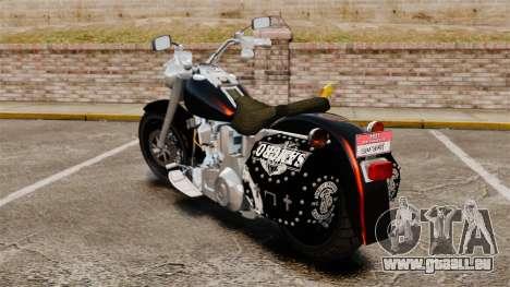 Harley-Davidson für GTA 4 linke Ansicht