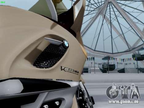 BMW K1200LT pour GTA San Andreas sur la vue arrière gauche