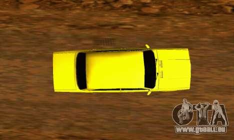 VAZ 2107 VIP für GTA San Andreas Rückansicht