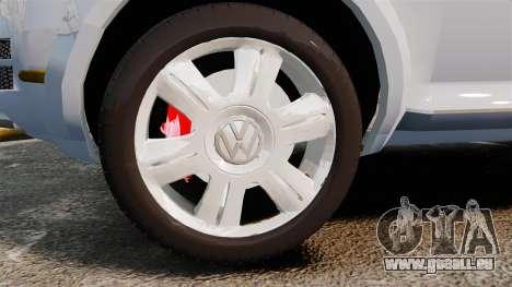 Volkswagen Touareg 2002 für GTA 4 Rückansicht