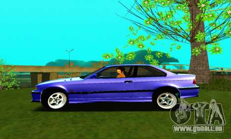 BMW E36 Low and Slow für GTA San Andreas linke Ansicht