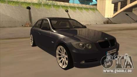 BMW 330 e90 für GTA San Andreas linke Ansicht