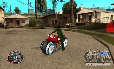 Tadpole Motorcycle für GTA San Andreas