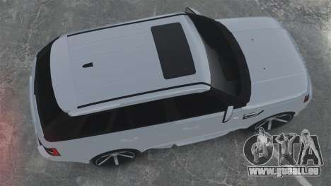 Range Rover Sport Autobiography 2013 Vossen pour GTA 4 est un droit