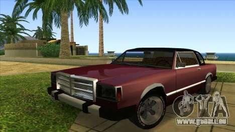 Feltzer C107 coupe für GTA San Andreas linke Ansicht
