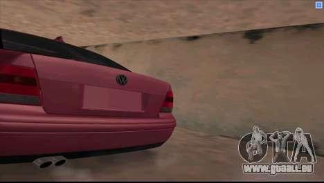Volkswagen Bora V6 Stance pour GTA San Andreas laissé vue