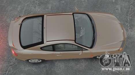 Hyundai Tiburon für GTA 4 rechte Ansicht