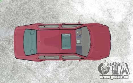 Volkswagen Vento für GTA San Andreas Rückansicht