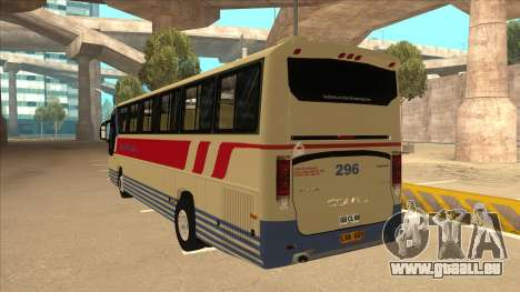 Davao Metro Shuttle 296 für GTA San Andreas Rückansicht