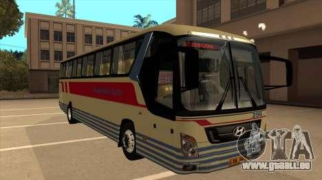 Davao Metro Shuttle 296 für GTA San Andreas linke Ansicht