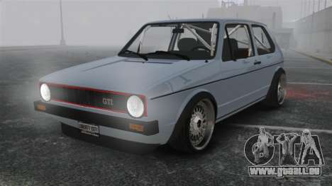 Volkswagen Golf MK1 GTI Update v1 für GTA 4