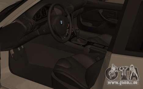 BMW Z3 M Power 2002 pour GTA San Andreas vue arrière