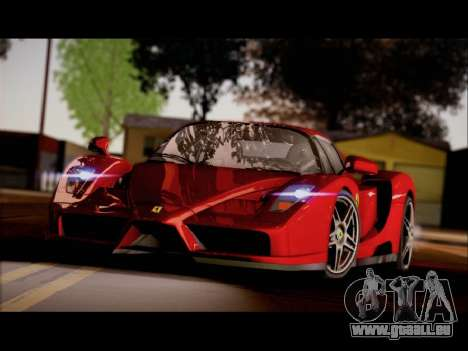 Ferrari Enzo pour GTA San Andreas vue de droite