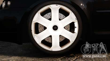 Audi S3 2001 für GTA 4 Rückansicht