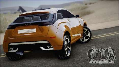Lada X-Ray für GTA San Andreas linke Ansicht