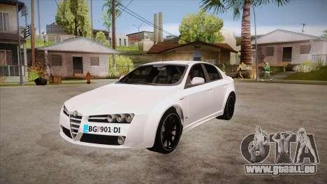 Alfa Romeo 159 pour GTA San Andreas