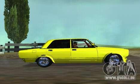 VAZ 2107 VIP für GTA San Andreas linke Ansicht