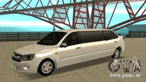 Lada Granta Limousine für GTA San Andreas