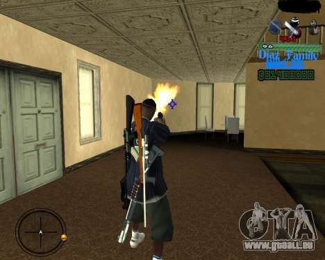 C-Hud for SA:MP für GTA San Andreas