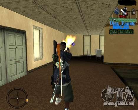 C-Hud for SA:MP pour GTA San Andreas
