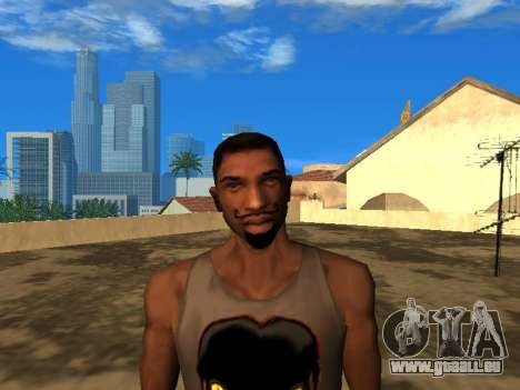 Das neue Gesicht von CJ für GTA San Andreas
