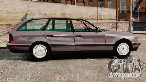 BMW 535 E34 Touring pour GTA 4 est une gauche