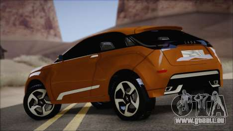 Lada X-Ray für GTA San Andreas zurück linke Ansicht