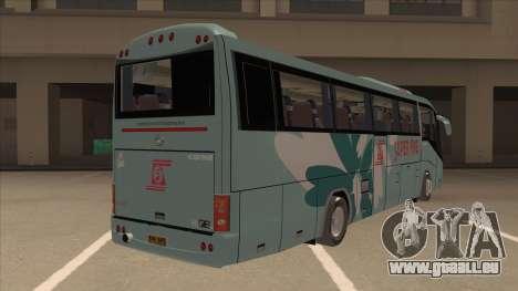 Higer KLQ6129QE - Super Fice Transport S 020 für GTA San Andreas rechten Ansicht