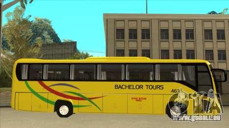 Kinglong XMQ6126Y - Bachelor Tours 463 pour GTA San Andreas sur la vue arrière gauche